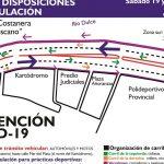 La Municipalidad restringe el tránsito vehicular en un sector de la Nueva Costanera para permitir la actividad deportiva