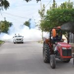 La Municipalidad trabajó esta semana con su programa de fumigación en cuatro barrios